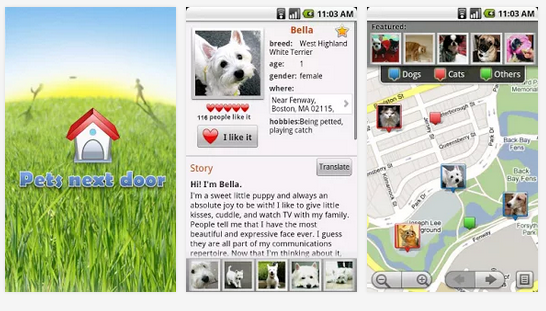 Pets Next Door  Dogs Cats More   Android Apps on Google Play