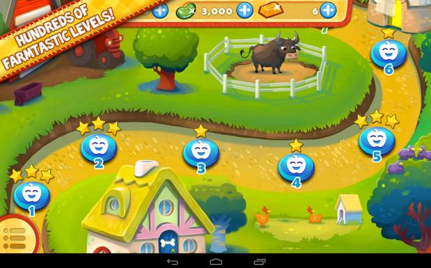 Farm Heroes Saga  Modded apk 1
