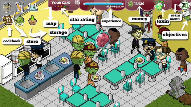 Zombie Cafe 1.1.2.0 Modded Apk