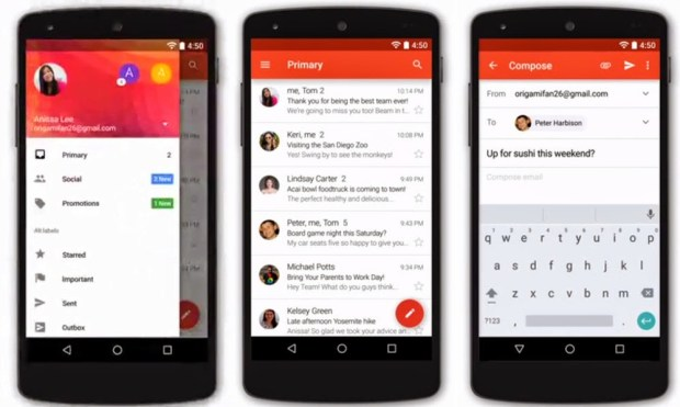 Gmail 5.0 apk 1