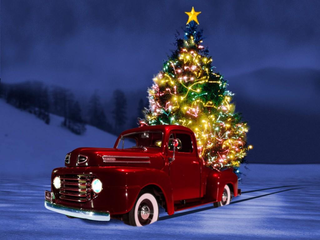 3d-christmas-car-wallpaper