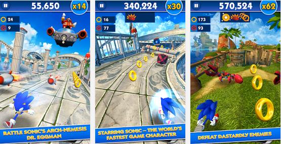 Sonic Dash 20 MOD APK