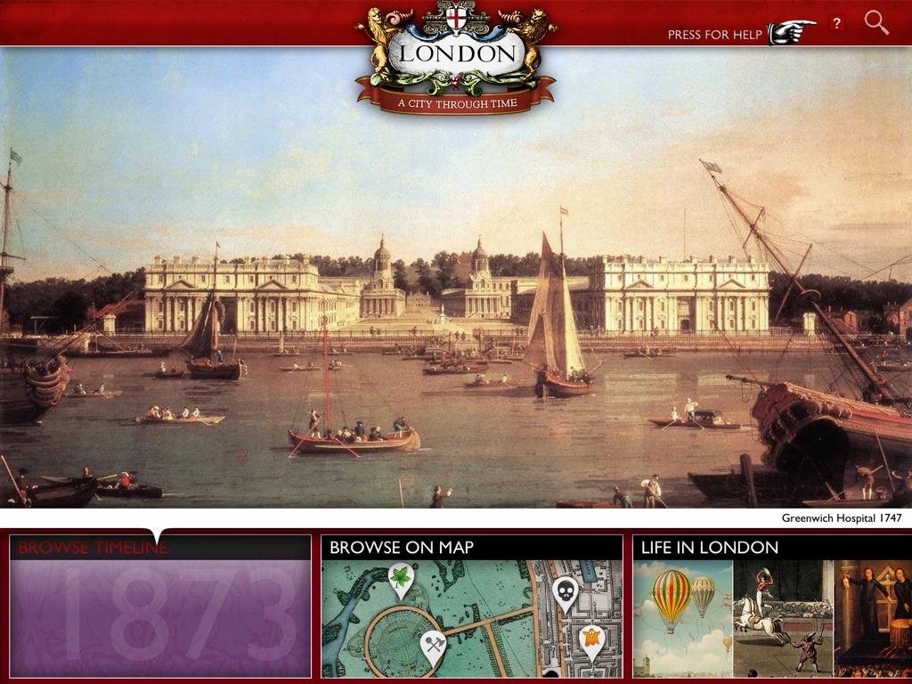 London-a-City-Through-Time-iPad-app