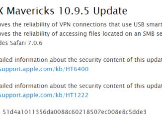 Download OS X Mavericks 10 9 5 Final Setup build (13F34) [ DMG Files