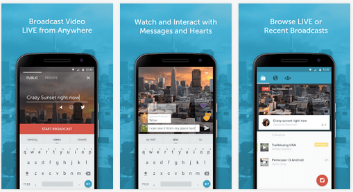 Periscope Android Apps on Google Play