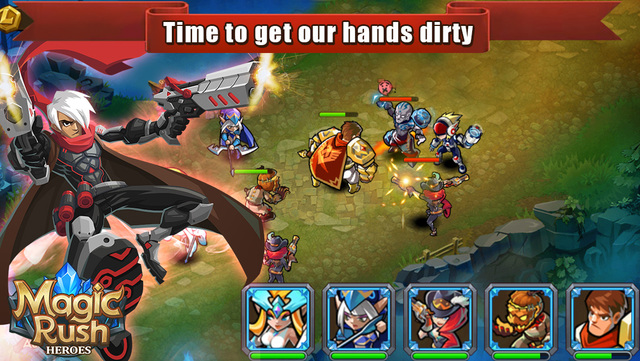 Magic Rush: Heroes Mod Apk v1 1 5 with unlimited Money
