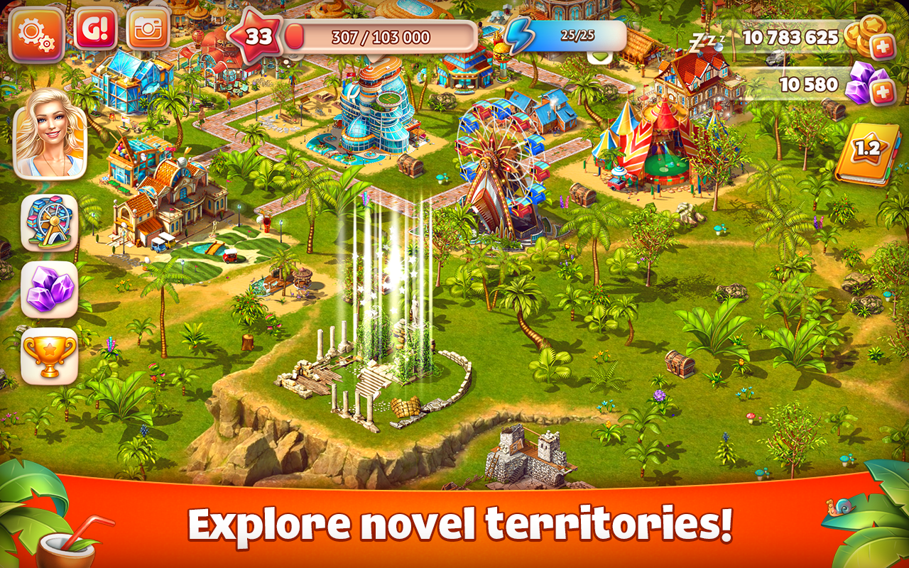 Download Paradise Island v3 2 10 Mod Apk (Unlimited coins
