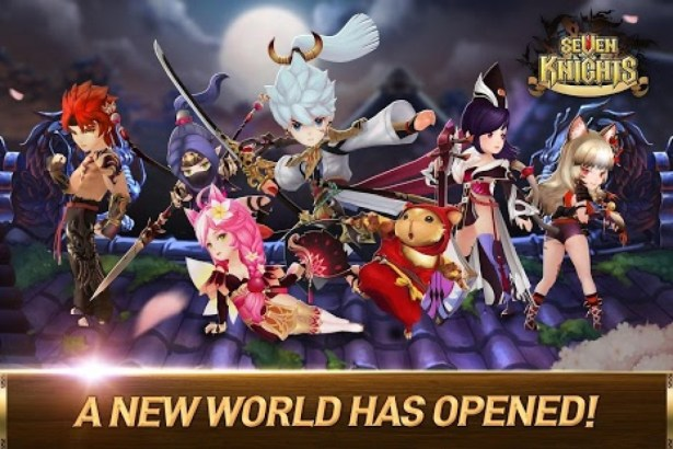 Seven knights apk  data