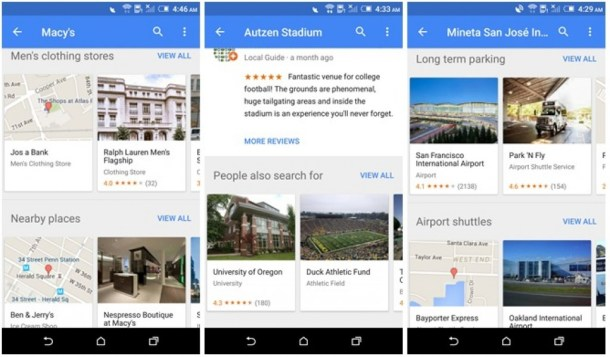 Google Maps v9.25.1 Adds Batch Photo Submission  Puts Contact Addresses In Your Places  And Gives Suggested Searches On Location Pages  APK Download