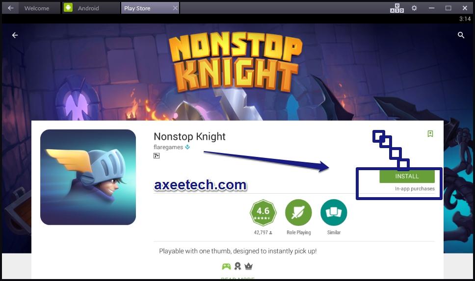 Nonstop Knight for Windows 10/8/7 [ PC Desktop Version