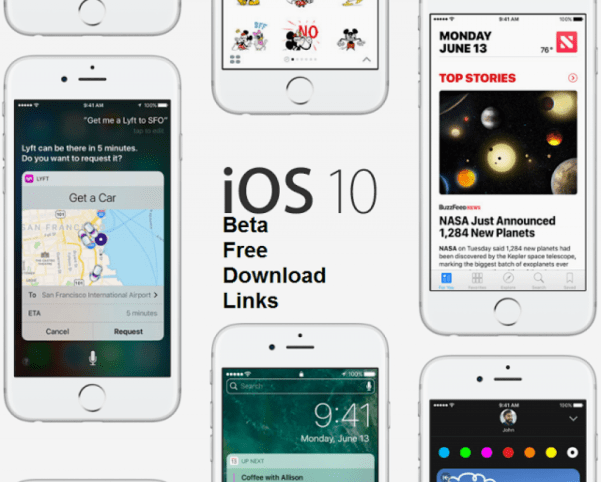iOS 10 Beta Download Links
