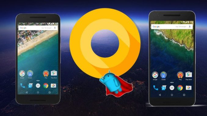 Android 8.1 Oreo Developers Preview