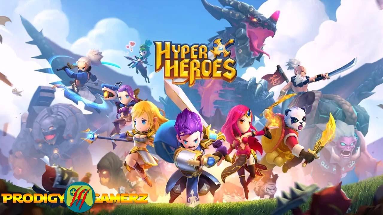 Hyper Heroes Marble-Like RPG mod apk hack