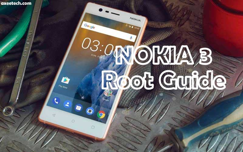 How to Root Nokia 3 without connecting it to the computer