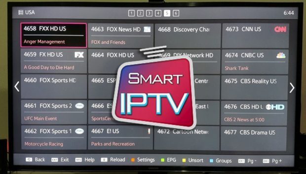 Best IPTV apps for Samsung Smart TV 2017