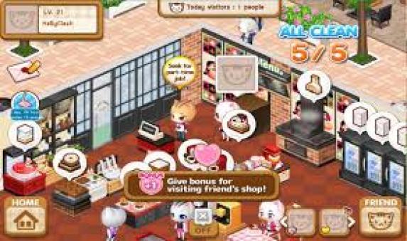 Happy Cafe mod apk
