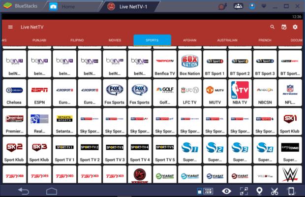 Live NetTV for Windows 10