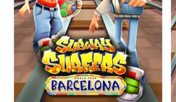 Subway Surfers Barcelona Mod apk hack 1760