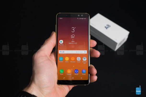 Galaxy A8 2018 No registered network issue
