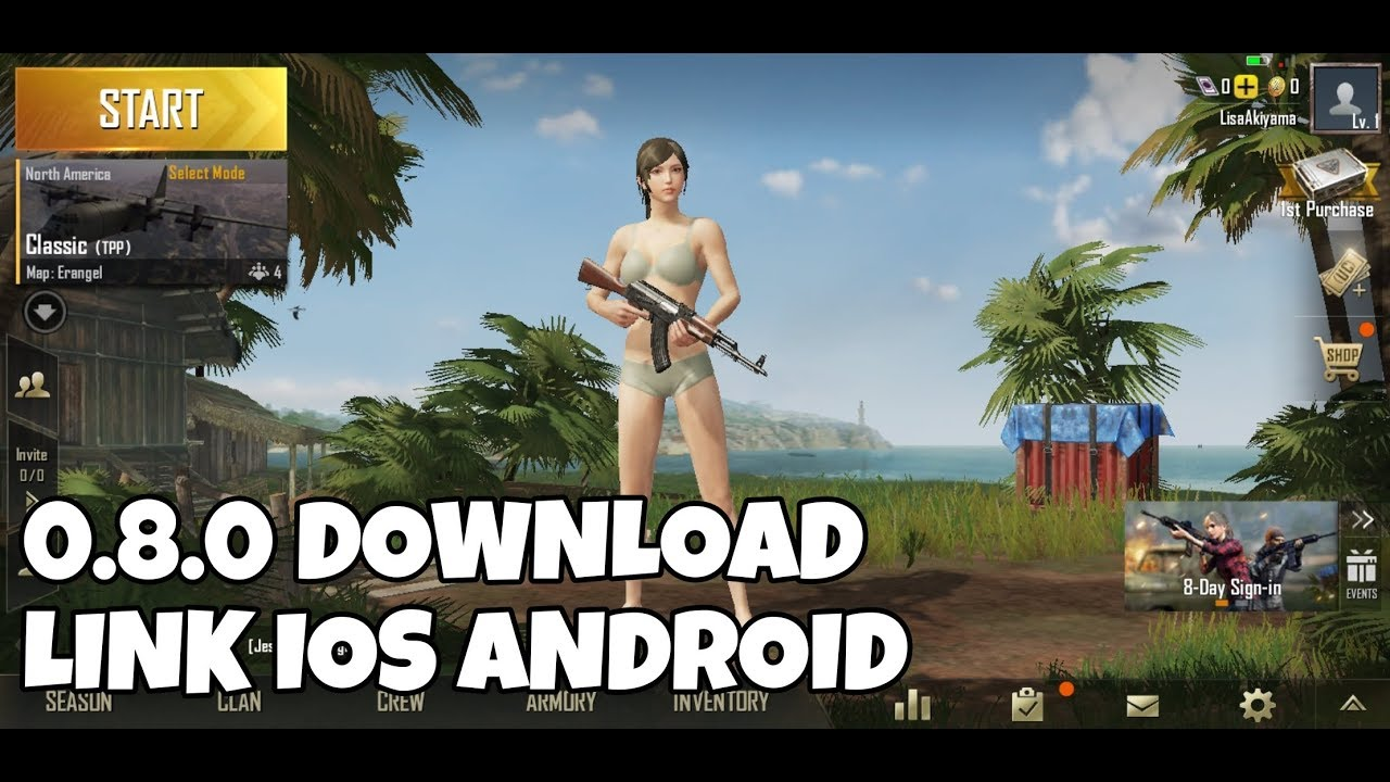 PUBG Mobile 0 8 0 Apk Beta with new Sanhok map available