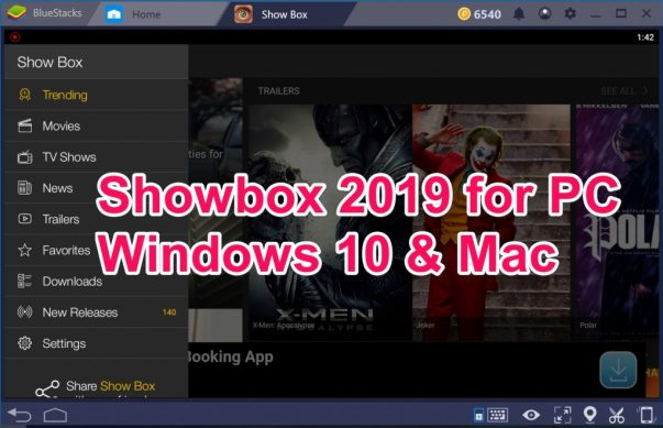 Showbox 2019 for PC Windows 10