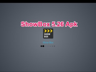 Showbox 5.26 apk for Android January 2019