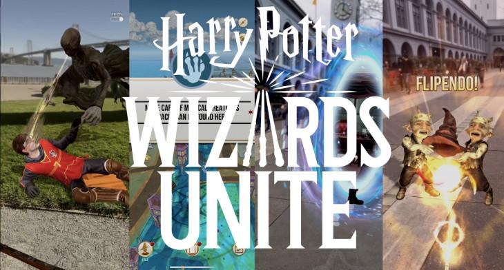Harry potter wizards unite spoof