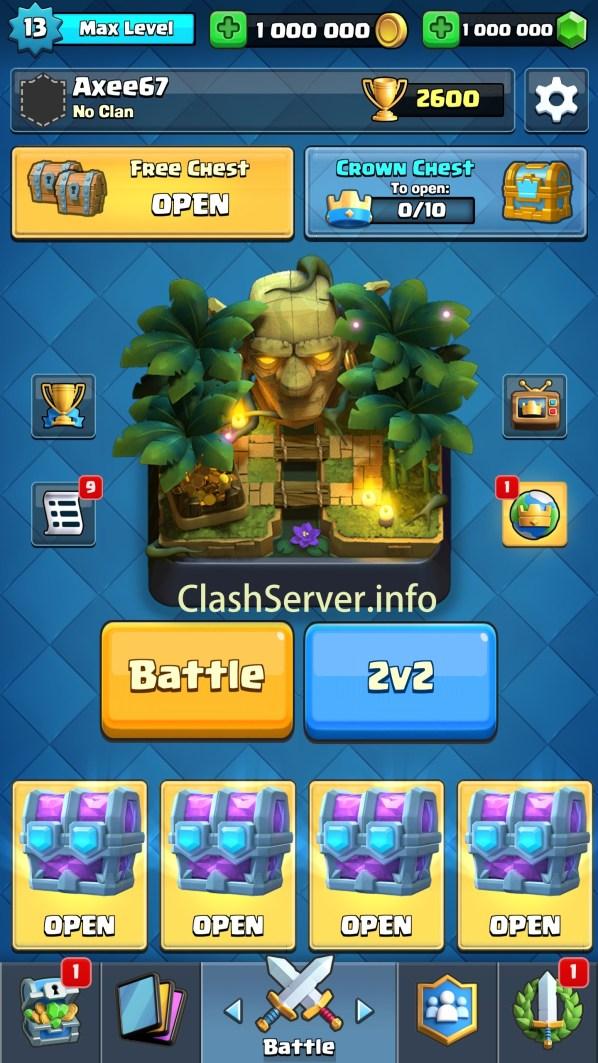 Clash Royale Private Server April 2019 CR 271 Mod apk