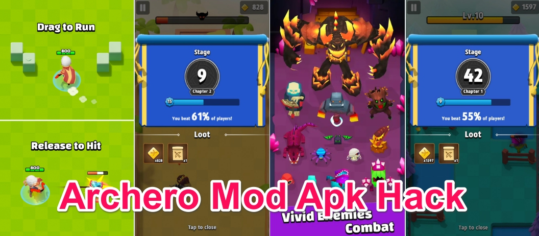 Archero Apk Mod v1 0 9 for Android +OBB and Data  [May 2019
