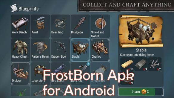 Frostborn Apk for Android