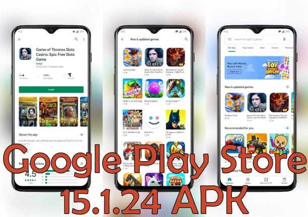 Google Play Store 15124 Apk for Android 2019