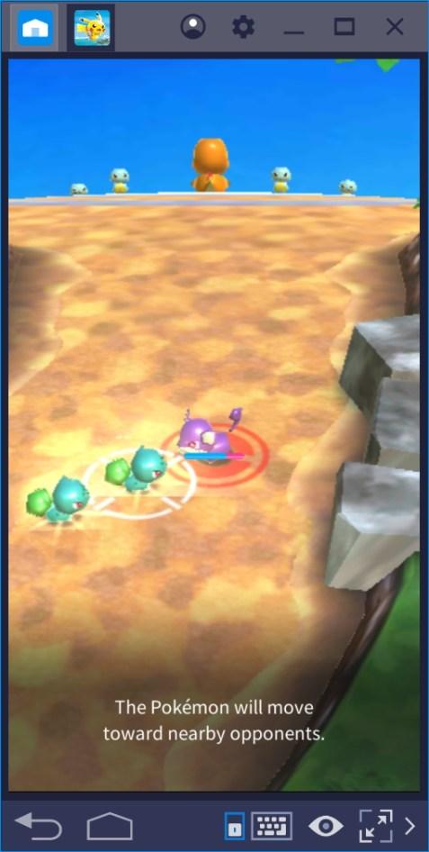 Pokemon Rumble Rush for PC Desktop Laptop game play