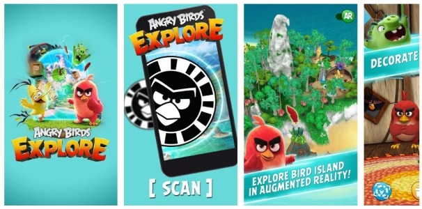 Angry Birds Explore Apk OBB data download