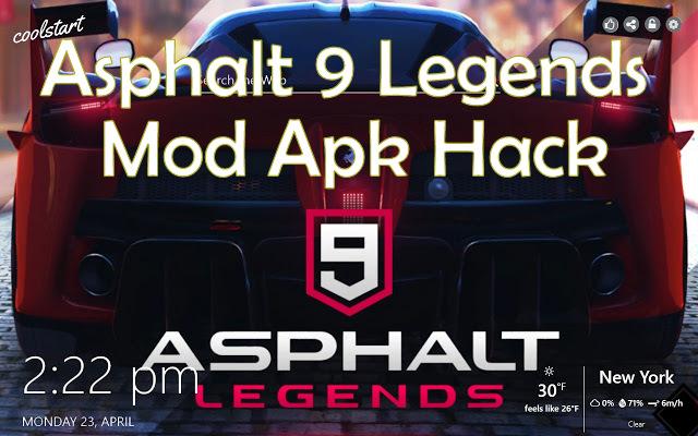 Asphalt 9 Legends Mod Apk 1 7 3a +OBB/Data for Android