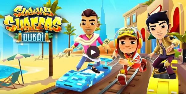 Subway Surfers 1.104.0 Dubai Mod apk hack