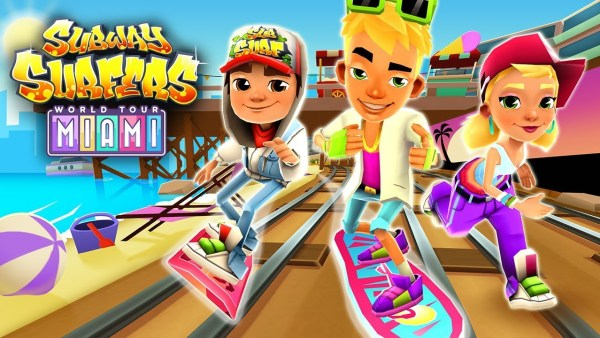 Subway Surfers 1.105.0 Mod Apk Miami Florida June 2019