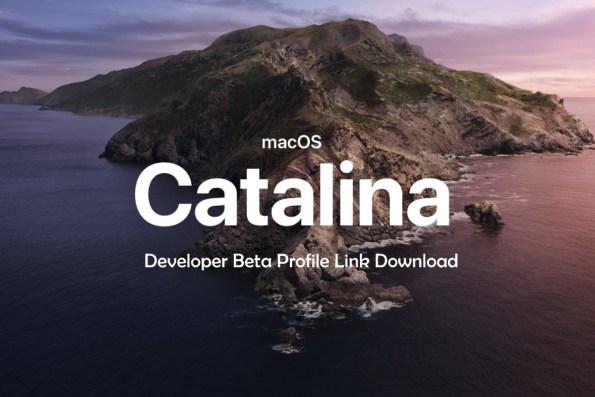 MacOS Catalina 10.15 Developer Beta DMG Link