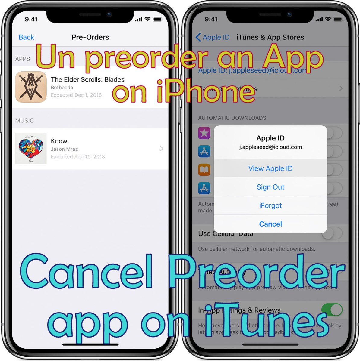 How to Un PreOrder an App on iPhone or Cancel Pre-order