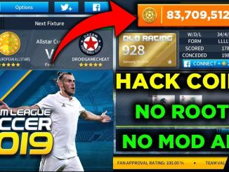 Dream League Soccer 2019 Profiledat hack for unlimited coins