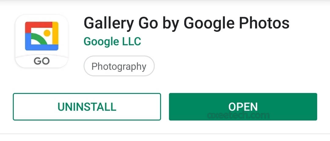 Google Gallery Go Apk for Android a new Lightweight Google Photos