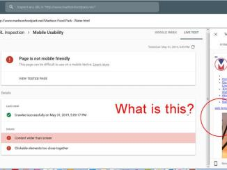 Mobile Usability Issues Detected on your Site issues