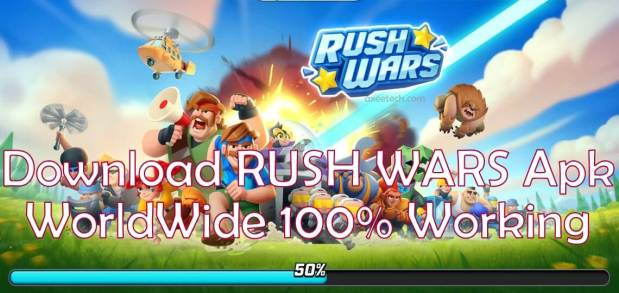 Download Rush Wars in Any Country Right now