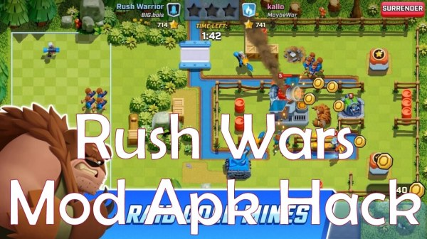 Rush Wars Mod Apk hack for Android