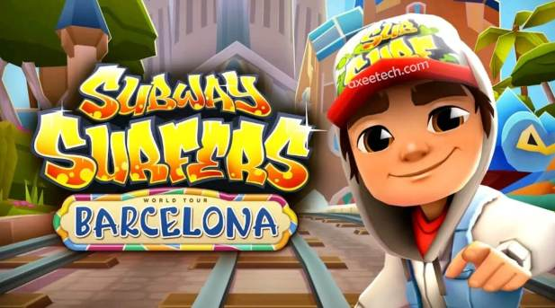 Subway Surfers Barcelona Mod Apk Hack v11070