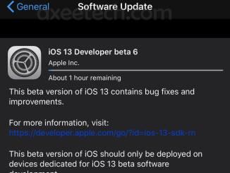 iOS 13 Beta 6 ipsw File Download Links