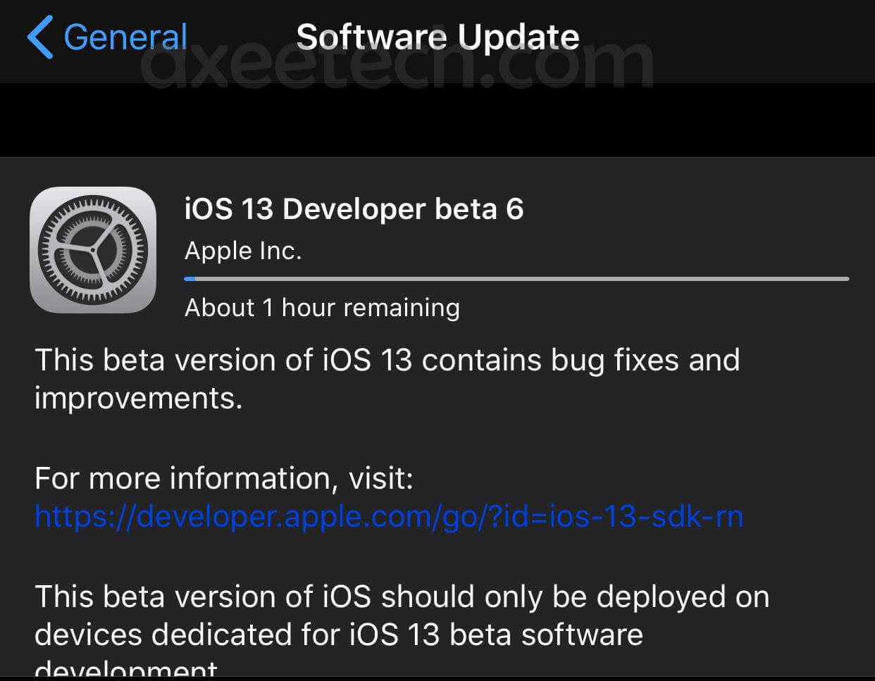 iOS 13 Beta 6 ipsw Direct Download With Profile Links. [7 ...