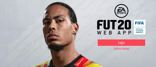 FIFA 20 Web App FUT 20 APk