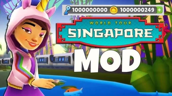 Subway Surfers Singapore Mod apk 1.109.0 hack