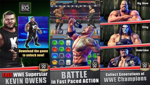WWE Universe on Windows 10 PC