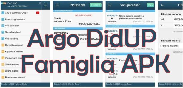 Argo DidUP Famiglia apk download